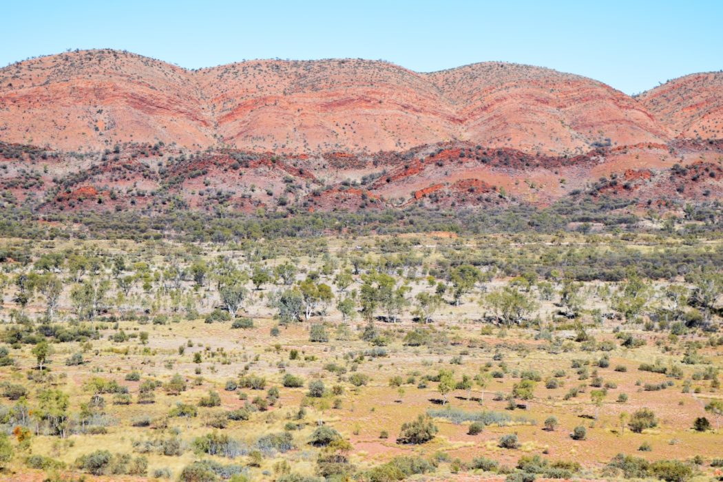 This is why they call it the Red Centre!