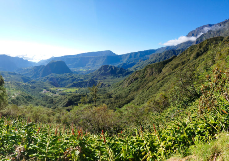 Hiking in the cirques, l'île de La Réunion