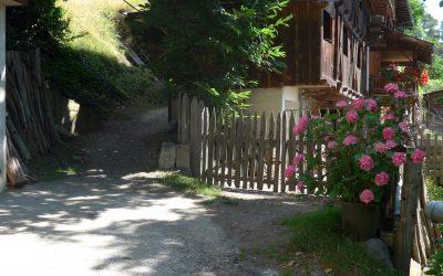 Farmhouse on the Keschtnweg near Brixen