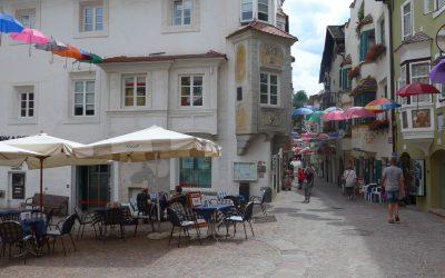 Unterstadt, The main street in Klausen/Chiusa