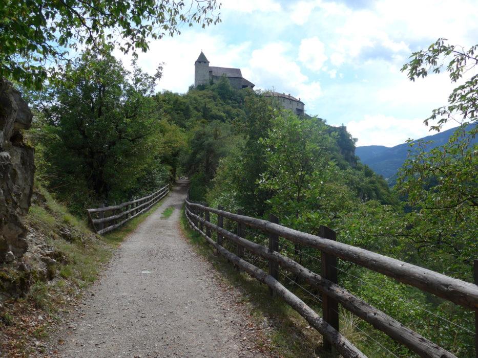 Klöster Säben on a hilltop above Klausen