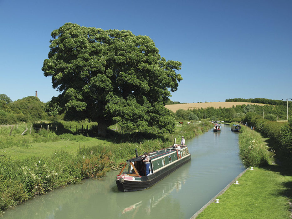 The Kennet and Avon canal near Crofton Pumping Station