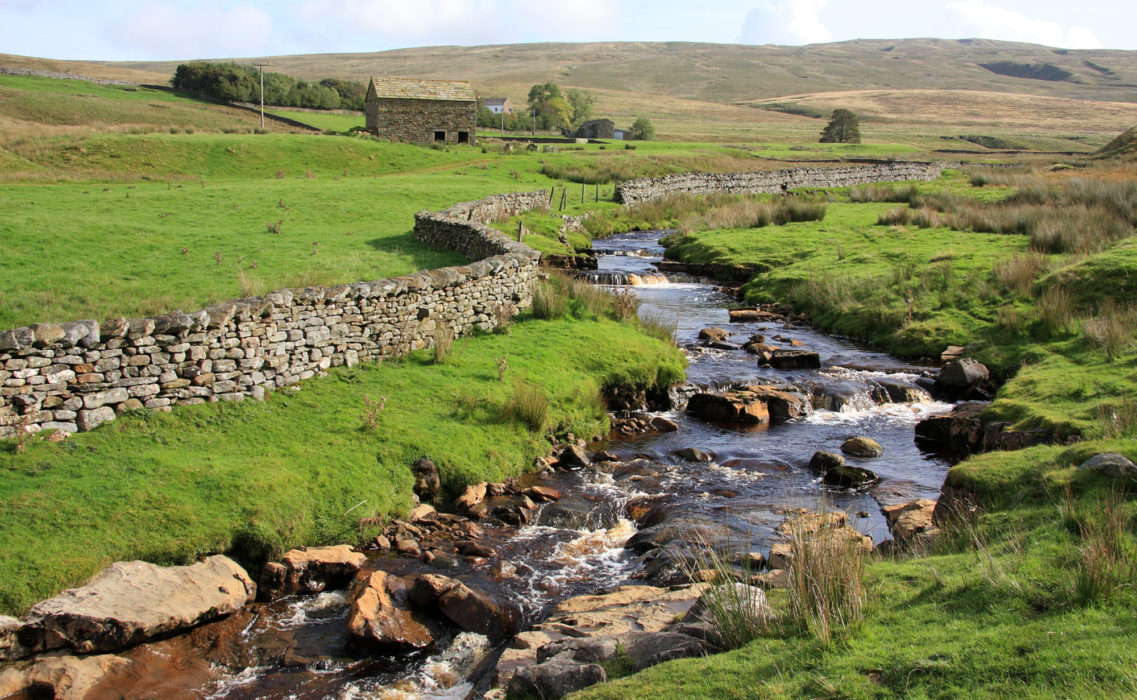 1-The River Eden rises in the North Pennines