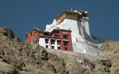 3 Tsemo Fort And Monastery Above Leh Palace