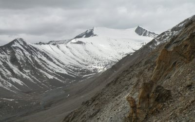 4 Glacier Above The Khardung La Pass