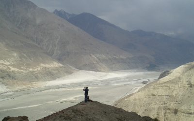 5 Panoramic View Over The Shyok Valley