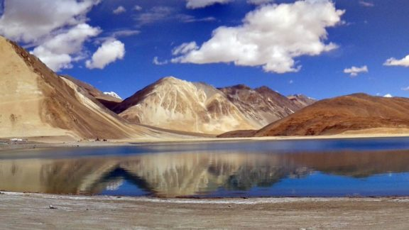 15 Pangong Lake Panorama Made Of 15 A And 15 B