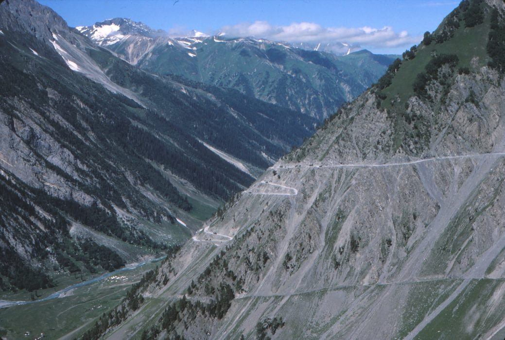1 Zoji La Pass Between Kashmir And Leh In 1977