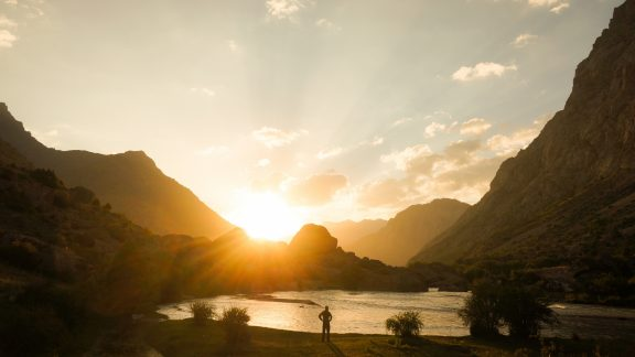 Good morning Tajikistan! Sometimes it's worth getting up at sunrise. In summer, it is even preferred to beat the heat at lower elevations.