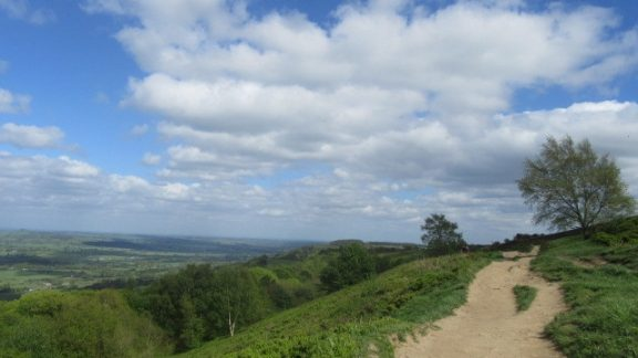 View from the Chevin ridge