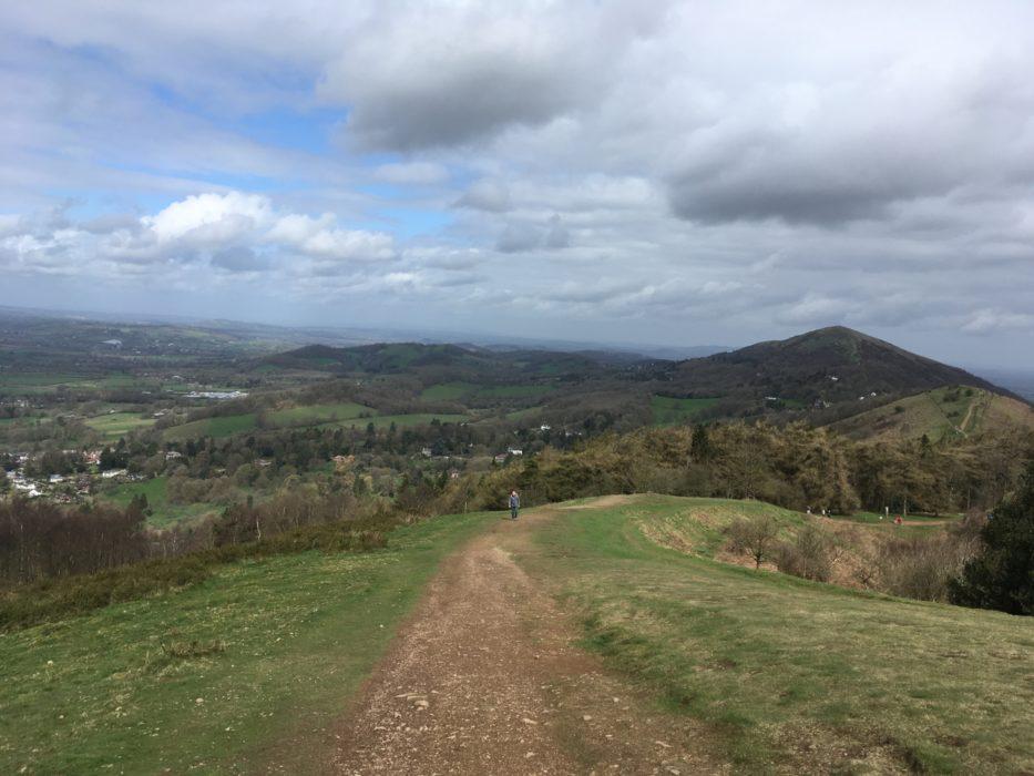 The Malverns. Excellent ridge walking