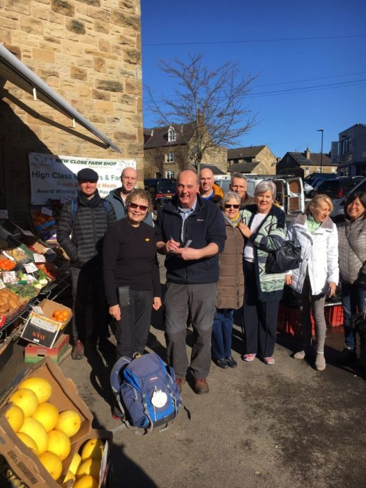 The Grand Depart: Mark the greengrocer signs my Pilgrim Passport and I head off for Spain