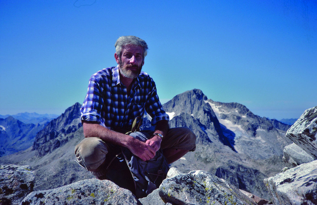 Kev in the Pyrenees in 1983