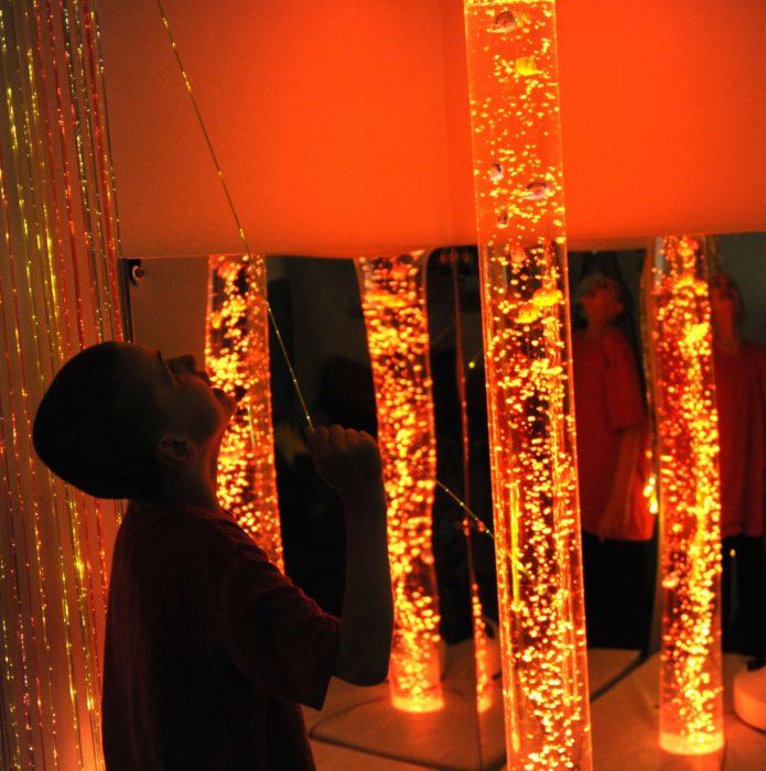 The sensory room