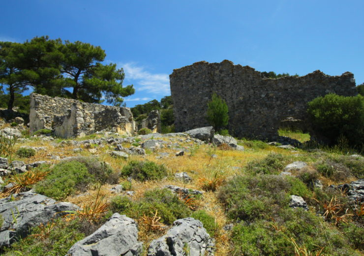 A forgotten castle in Northern Cyprus
