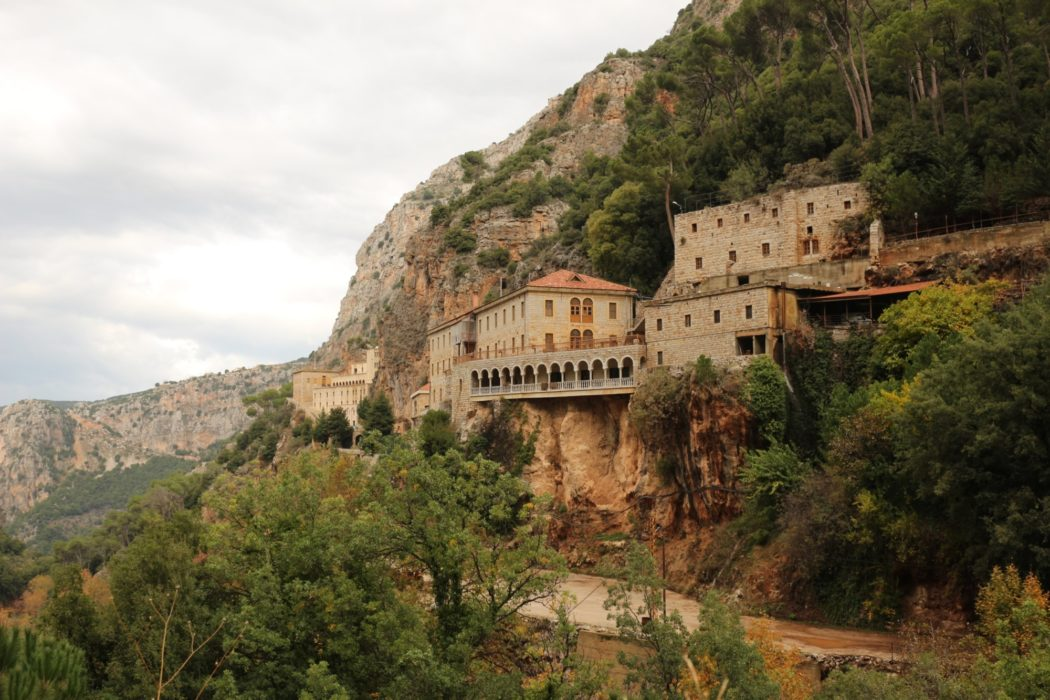 The Der Mar Antonios Ishaya monastery contained the Middle East's first printing press