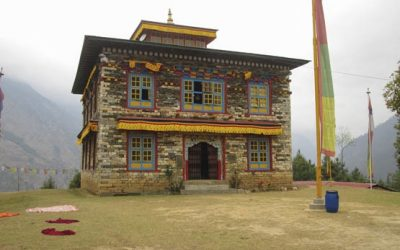 Pema Namding Monastery Is Located On A Ridge Between Chokha And Kharikhola