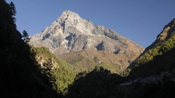 Khumbi Yul Lha Is A Sacred Mountain For Sherpa People