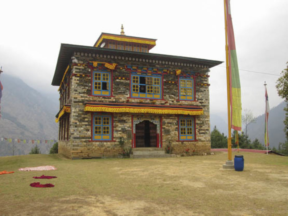 Pema Namding Monastery Is Located On A Ridge Between Chokha And Kharikhola