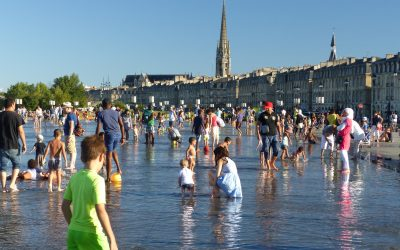 03 Le Miroir d'Eau - the world's largest water mirror in Bordeaux