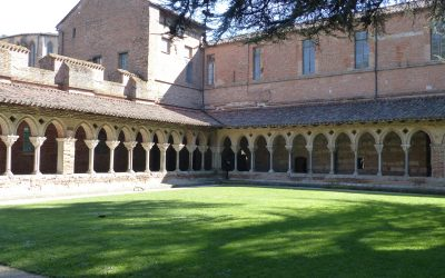 17 The oldest example of intact cloisters in Europe (Moissac)