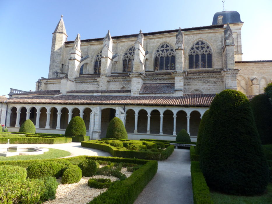 05 The cloisters in Église Notre-Dame in Marmande