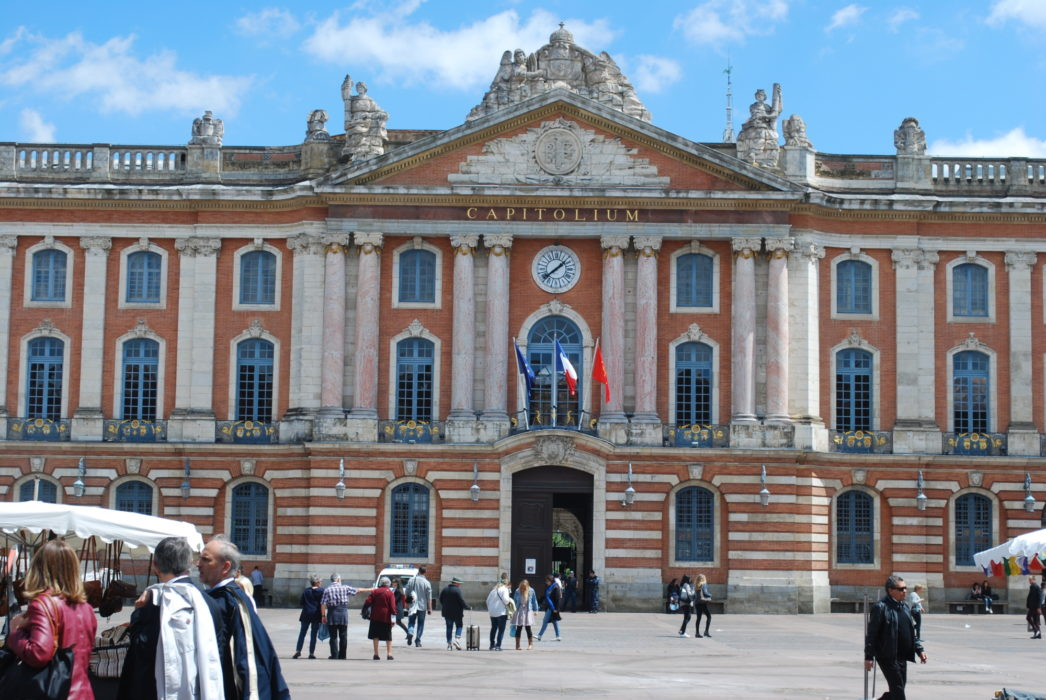 21 Toulouse's main square: the Place du Capitole