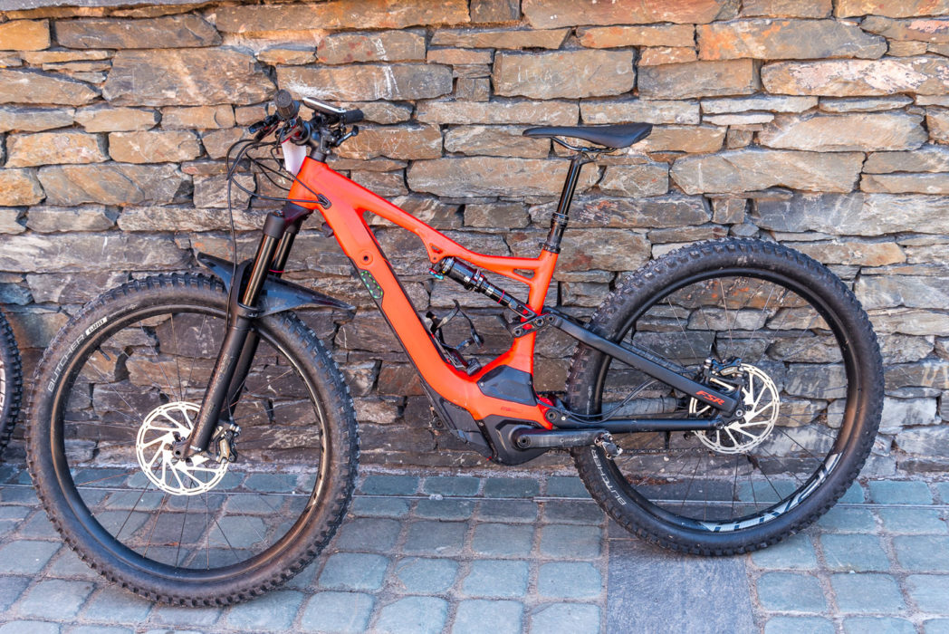 Specialized Turbo Levo at Grizedale Forest.
