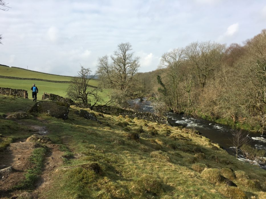 Approaching Staveley