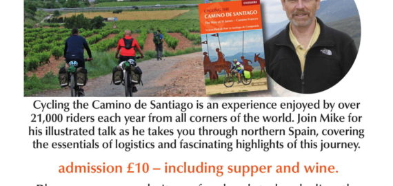 Cycling the Camino event with Mike Wells