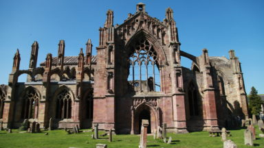 The heart of Robert the Bruce may be buried beneath Melrose Abbey