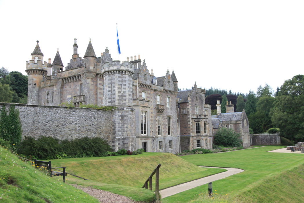 Abbotsford House, former residence of Sir Walter Scott