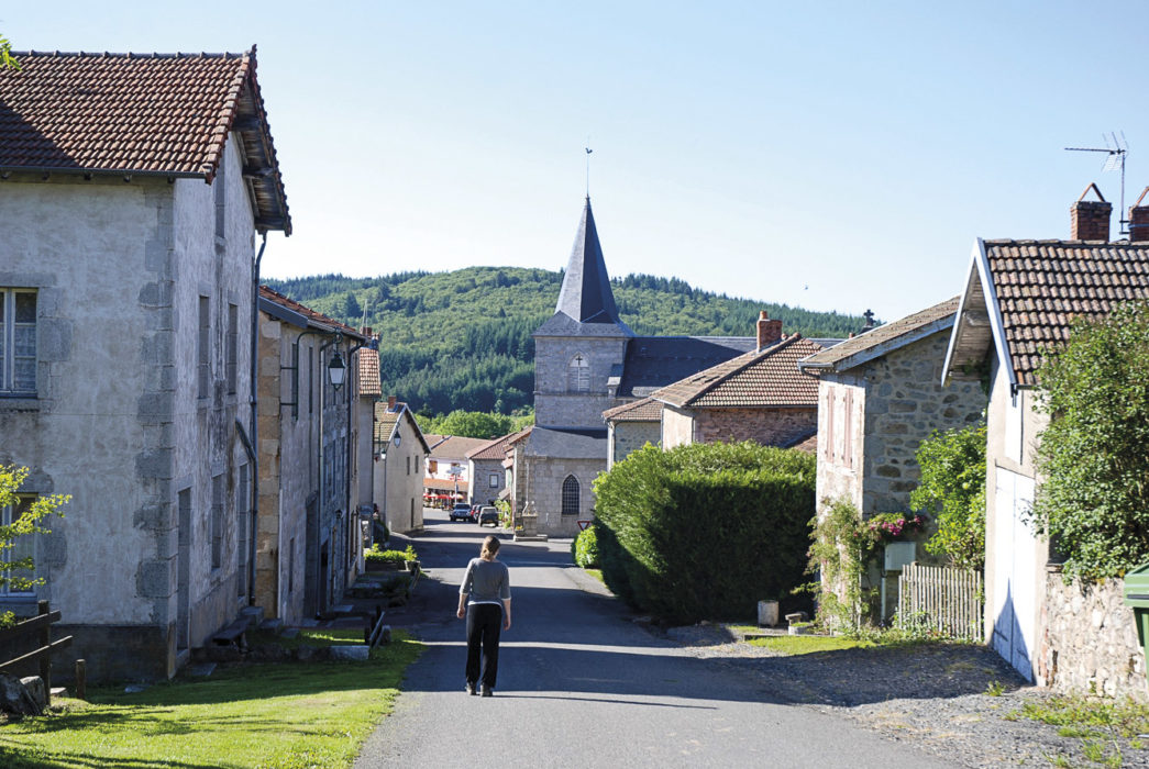 Walking through the sleepy village of St Nicolas