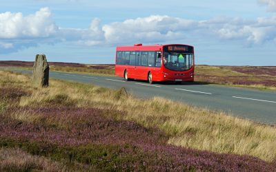 The Moorsbus offers summer weekend services across the moors