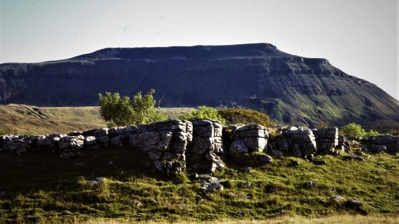 Ingleborough From Southerscales 1969