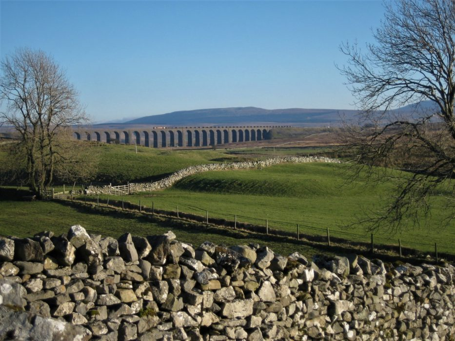 Ribblehead Viaduct From Bruntscar