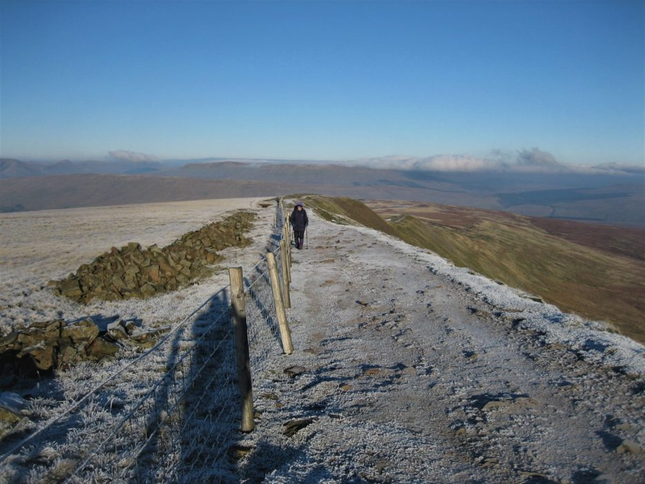 Minus 10C on the crest of Whernside