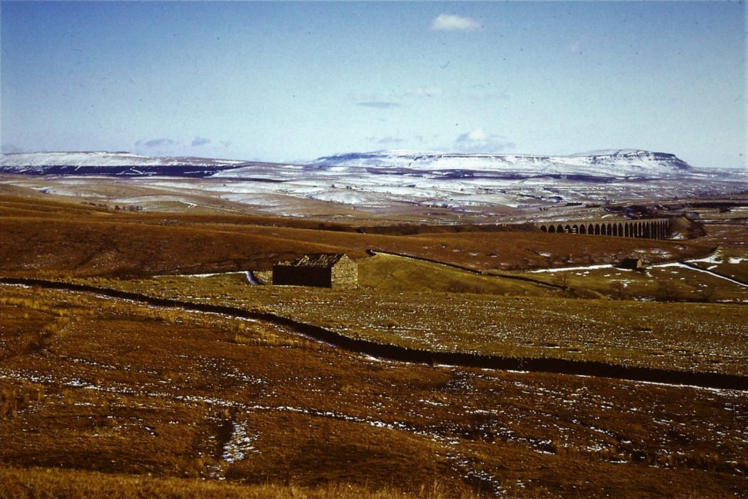Pen Y Ghent And Ribblehad Winter