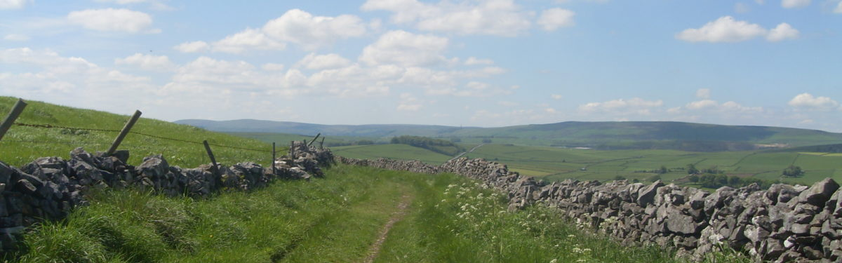 Limestone Way in Derbyshire