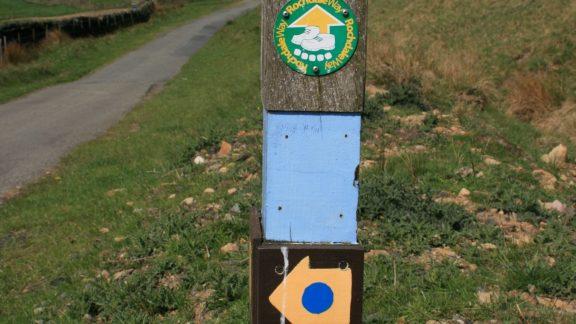 Pennine Bridleway National Trail signpost