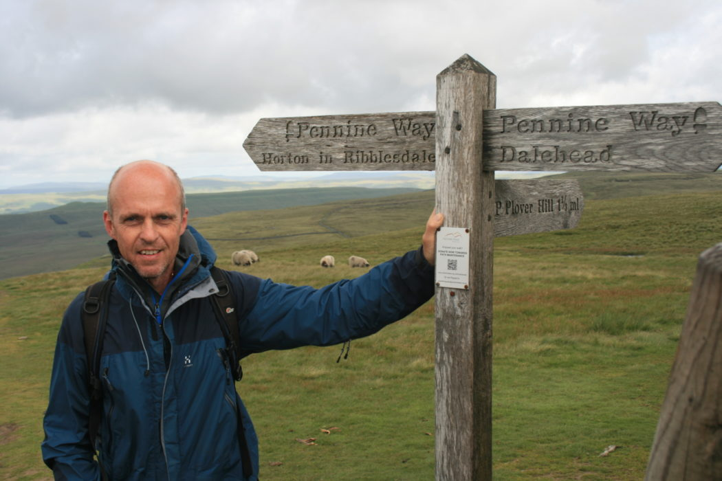 Andrew McCloy on Pennine Way National Trail