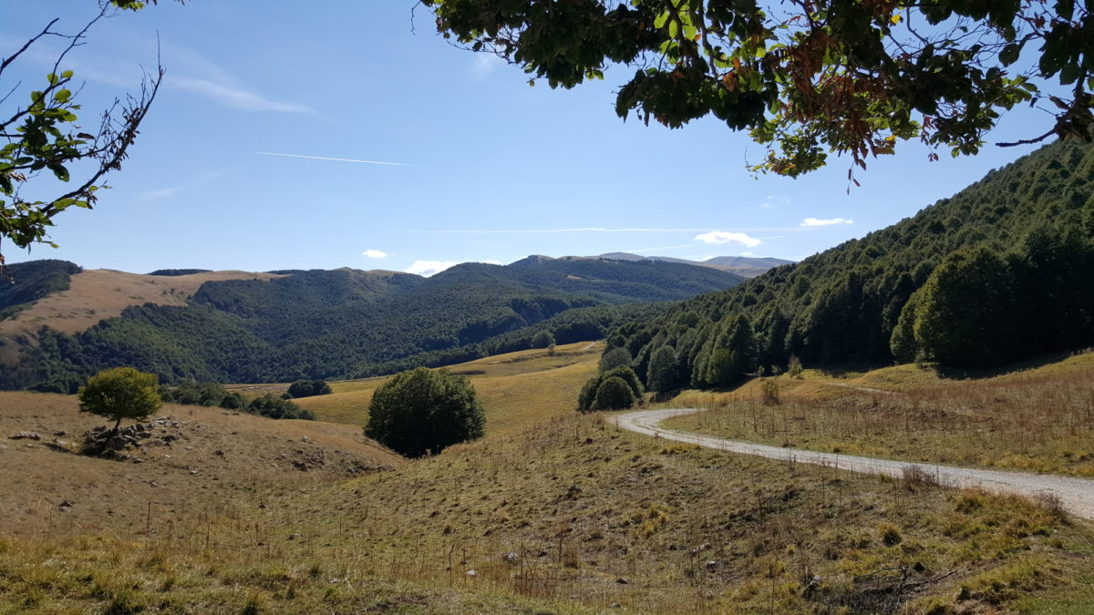 Chiarino Sparvera between the Abruzzo and Maiella National Parks