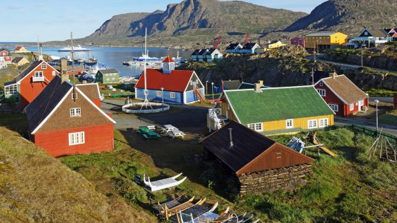 12 The historic heart of Sisimiut and the end of the trail beside the harbour