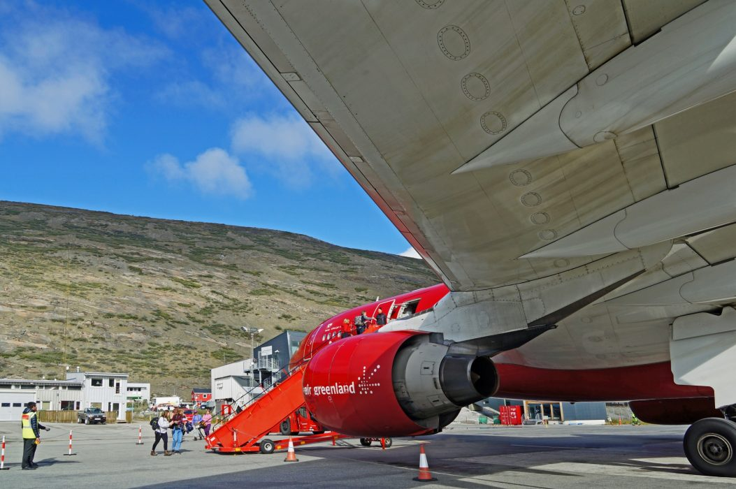 01 Kangerlussuaq Airport, at the start of the trail, might be downgraded in future