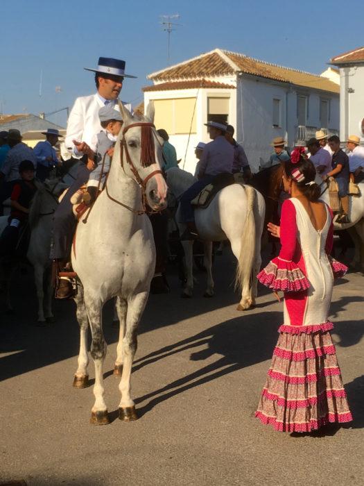 Fiesta in Fuente de Piedra
