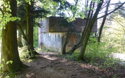011 Remnants of Switzerland's military past; a WWII bunker near the Salhohe Pass