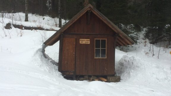 010 Refuge des Sages, a hut used by the Passeurs in the Grand Risoux forest