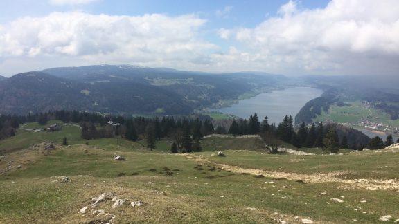 016 View across Lac du Joux from Dent de Vaulion