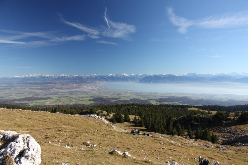 014 The Swiss Jura; the mountain range protecting Switzerland from enemy attack