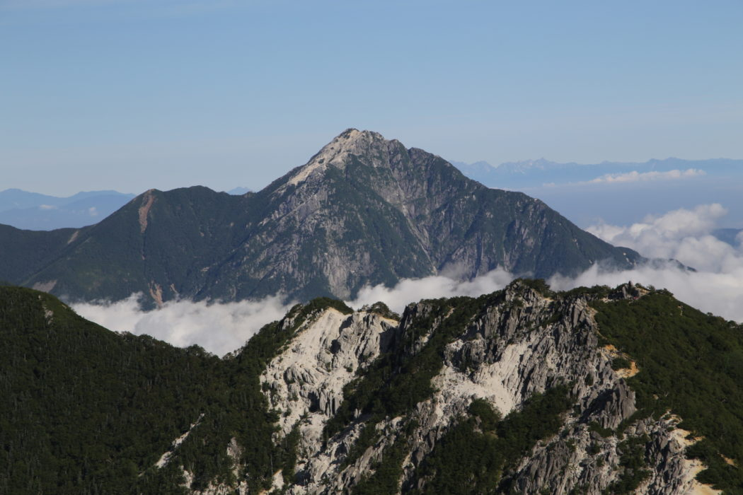 J8 Mt. Kai-Komagatake in the South Alps